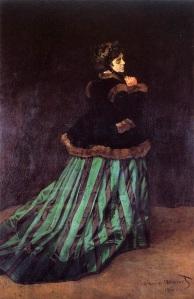 La femme à la robe verte ou Camille